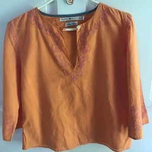 Indian-inspired tunic top, 12